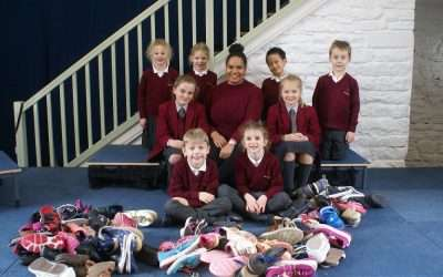Hunter Hall School's shoe appeal success