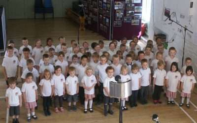 220 pupils take part in music recording at Hunter Hall School