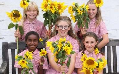 CUMBRIAN SCHOOL'S 'SUMMER OF KINDNESS' ENDS IN BLOOMIN' MARVELLOUS STYLE!
